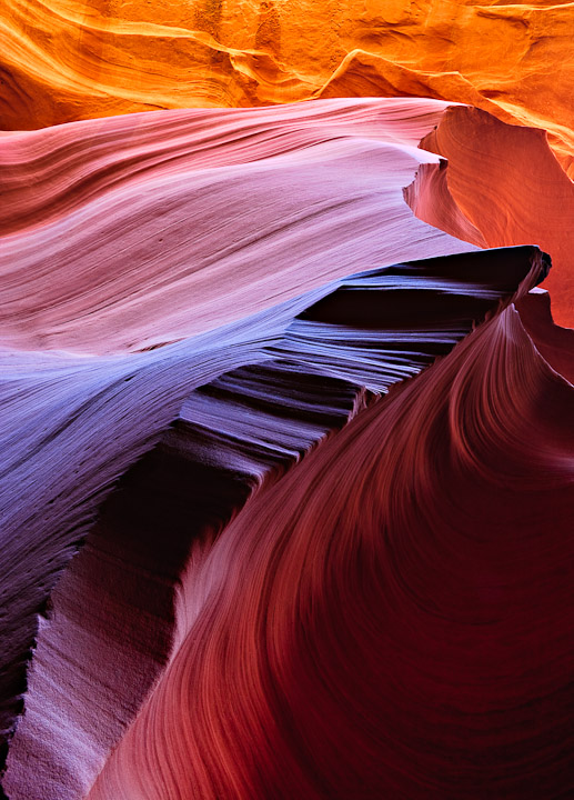 Sandstone Vortex Lower Antelope Canyon, AZ
