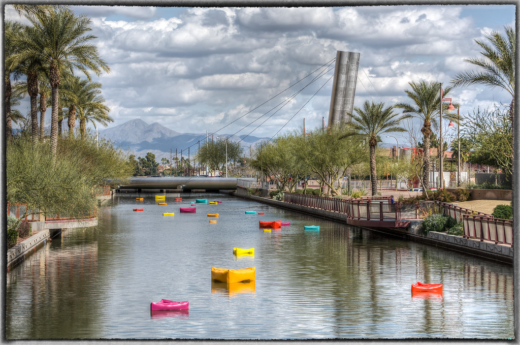 Canal in Downtown Scottsdale