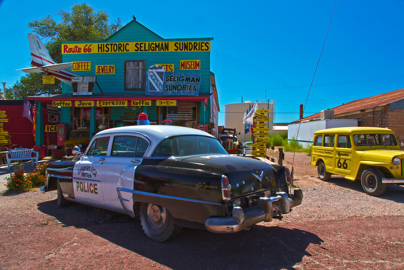 Historic Rt.66, Seligman Arizona