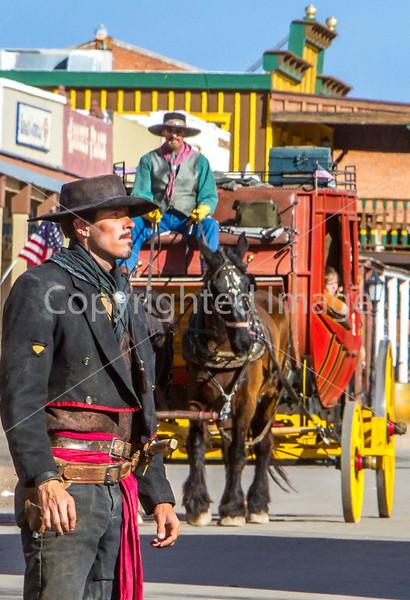 Gunfighters in Tombstone, Arizona - D3-C1-0355 - 72 ppi