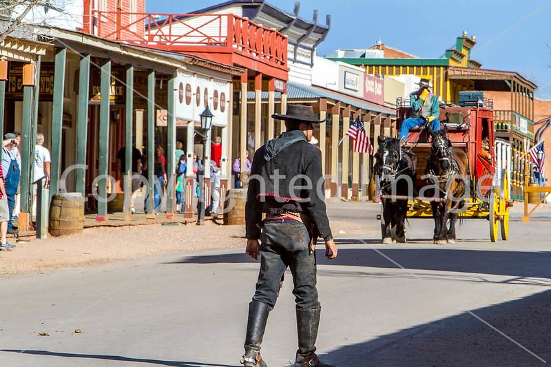 Gunfighters in Tombstone, Arizona - D3-C1-0354 - 72 ppi
