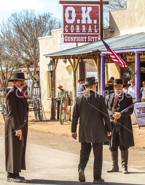 Gunfighters in Tombstone, Arizona - D3-C1-0326 - 72 ppi