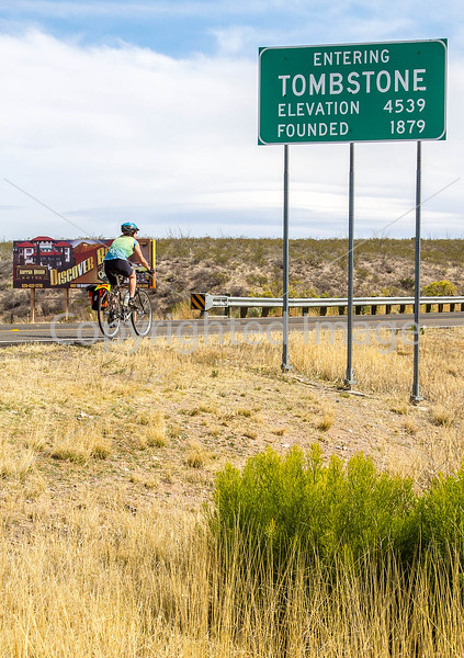 ACA -  End of day's ride in Tombstone, Arizona - D3-C3#1-0420 - 72 ppi
