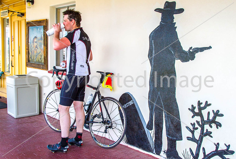 ACA -  End of day's ride in Tombstone, Arizona - D3-C3#1-0403 - 72 ppi