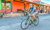 ACA - Cyclists outside Gathering Grounds Coffeehouse, Patagonia, AZ - D3-C2- - 72 ppi-3