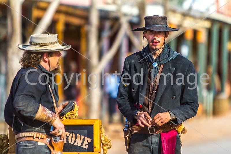 Gunfighters in Tombstone, Arizona - D3-C1-0434 - 72 ppi