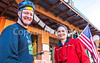 ACA - Cyclists outside Gathering Grounds Coffeehouse, Patagonia, AZ - D3-C2-0038 - 72 ppi