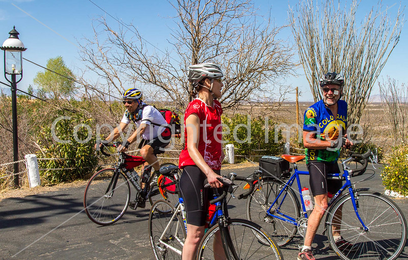 ACA -  End of day's ride in Tombstone, Arizona - D3-C3#1-0377 - 72 ppi
