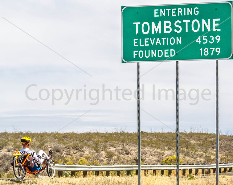 ACA -  End of day's ride in Tombstone, Arizona - D3-C3#1-0405 - 72 ppi