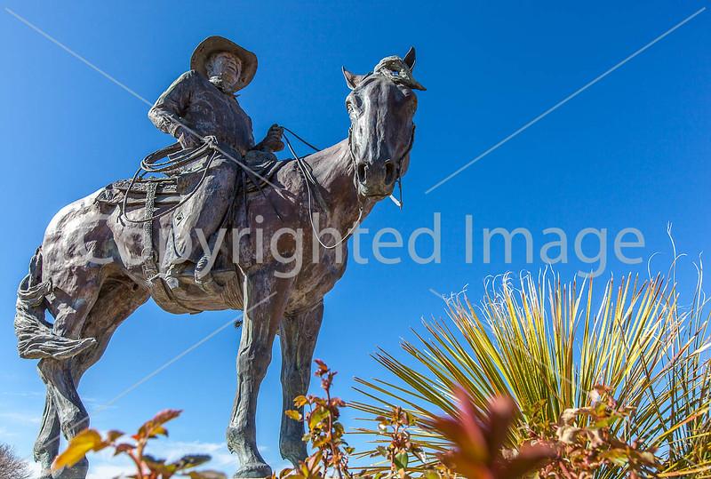 Statue in Sonoita, Arizona - D3-C2-0053 - 72 ppi