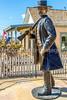 Wyatt Earp statue at his home in Tombstone, Arizona - D6-C3- - 72 ppi