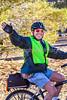 ACA - Cyclist leaving camp in Bisbee, Arizona - D6-C1-0128 - 72 ppi