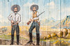 Murals at motel in Tombstone, Arizona - D6-C3-0574 - 72 ppi