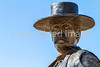 Wyatt Earp statue at his home in Tombstone, Arizona - D6-C3-0569 - 72 ppi