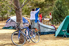 ACA - Cyclists and staff in camp in Bisbee, Arizona - D4-C3-0343 - 72 ppi
