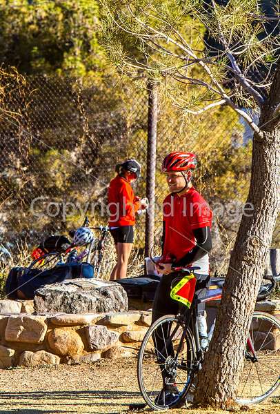 ACA - Cyclists and staff in camp in Bisbee, Arizona - D6-C1-0097 - 72 ppi