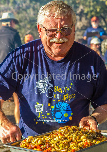 ACA - Cyclists and staff in camp in Bisbee, Arizona - D4-C3- - 72 ppi-3