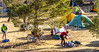ACA - Cyclists and staff in camp in Bisbee, Arizona - D6-C1-0067 - 72 ppi