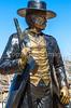 Wyatt Earp statue at his home in Tombstone, Arizona - D6-C3-0563 - 72 ppi