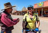 ACA - Cyclist on Allen Street in Tombstone, Arizona - D6-C2-0140 - 72 ppi