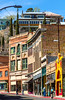ACA - Cyclists in Bisbee, Arizona - D4-C3- - 72 ppi