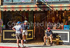 ACA - Cyclists and staff in downtown Bisbee, Arizona - D5-C3-0113 - 72 ppi