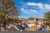 ACA - Cyclist and staff in camp in Bisbee, Arizona - D4-C2- - 72 ppi