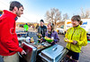 ACA - Cyclists & staff at breakfast in Tombstone, Arizona - D4-C2- - 72 ppi-2