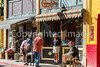 ACA - Cyclists and staff in downtown Bisbee, Arizona - D5-C3-0125 - 72 ppi