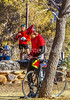 ACA - Cyclists and staff in camp in Bisbee, Arizona - D6-C1- - 72 ppi