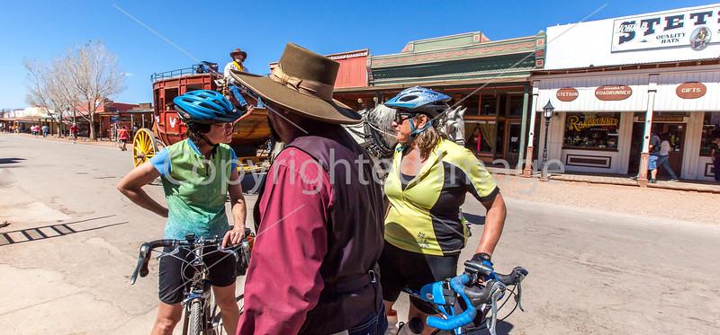 ACA - Cyclist on Allen Street in Tombstone, Arizona - D6-C2-0150 - 72 ppi-2
