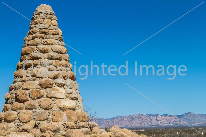 Schlieffelin Monument outside Tombstone, Arizona - D6-C3-0470 - 72 ppi