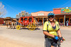 ACA - Cyclist on Allen Street in Tombstone, Arizona - D6-C2- - 72 ppi