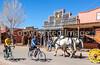 ACA - Cyclist(s) on Allen Street in Tombstone, Arizona - D6-C2-0159 - 72 ppi