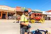 ACA - Cyclist on Allen Street in Tombstone, Arizona - D6-C2-0089 - 72 ppi