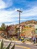 ACA - Cyclist(s) entering Bisbee, Arizona - D4-C2-0056 - 72 ppi