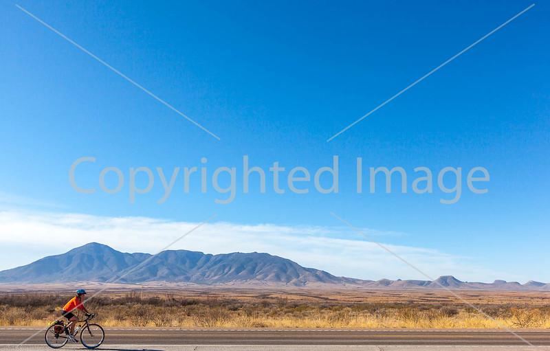 ACA - Riders southwest of Bisbee, Arizona, on US 92 - D6-C2-0023 - 72 ppi