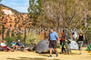 ACA - Cyclists and staff in camp in Bisbee, Arizona - D4-C3-0342 - 72 ppi