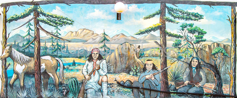 Motel art in Tombstone, Arizona - D4-C3-0003 - 72 ppi