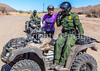 ACA - Biker with Border Patrol southwest of Tombstone, Arizona - D6-C2- - 72 ppi