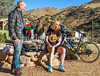 ACA - Cyclists and staff in camp in Bisbee, Arizona - D5-C3-0029 - 72 ppi