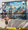ACA - Cyclists at motel in Tombstone, Arizona - D6-C3-0571 - 72 ppi