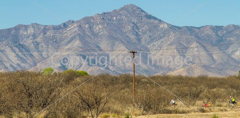 ACA - Rider(s) between Bisbee & Sierra Vista, Arizona - D6-C3- - 72 ppi