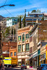 ACA - Cyclists in Bisbee, Arizona - D4-C3-0268 - 72 ppi