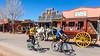 ACA - Cyclist on Allen Street in Tombstone, Arizona - D6-C2-0160 - 72 ppi