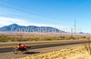 ACA - Rider(s) southwest of Bisbee, Arizona, on US 92 - D6-C3-0010 - 72 ppi