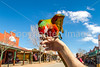 Macaw on Allen Street in Tombstone, Arizona - D6-C3-0527 - 72 ppi