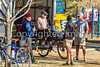 ACA - Cyclists and staff in camp in Bisbee, Arizona - D5-C3-0010 - 72 ppi