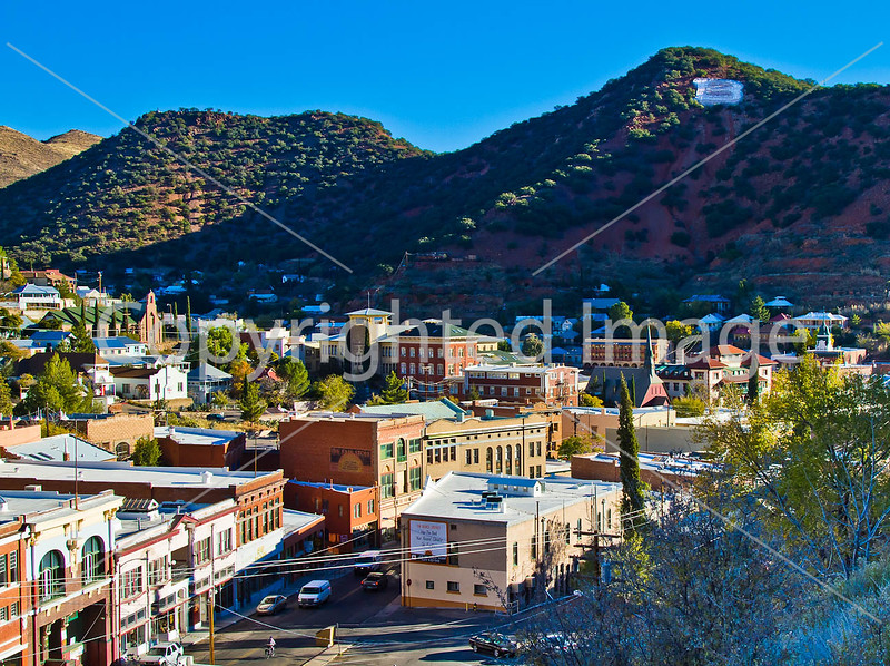 Bisbee, Arizona - D5-C3- - 72 ppi