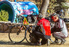 ACA - Cyclists and staff in camp in Bisbee, Arizona - D6-C1-0118 - 72 ppi-2